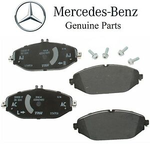 Details about For Mercedes W205 S205 C205 A205 C300 Turbo Front Disc Brake  Pad Set Genuine