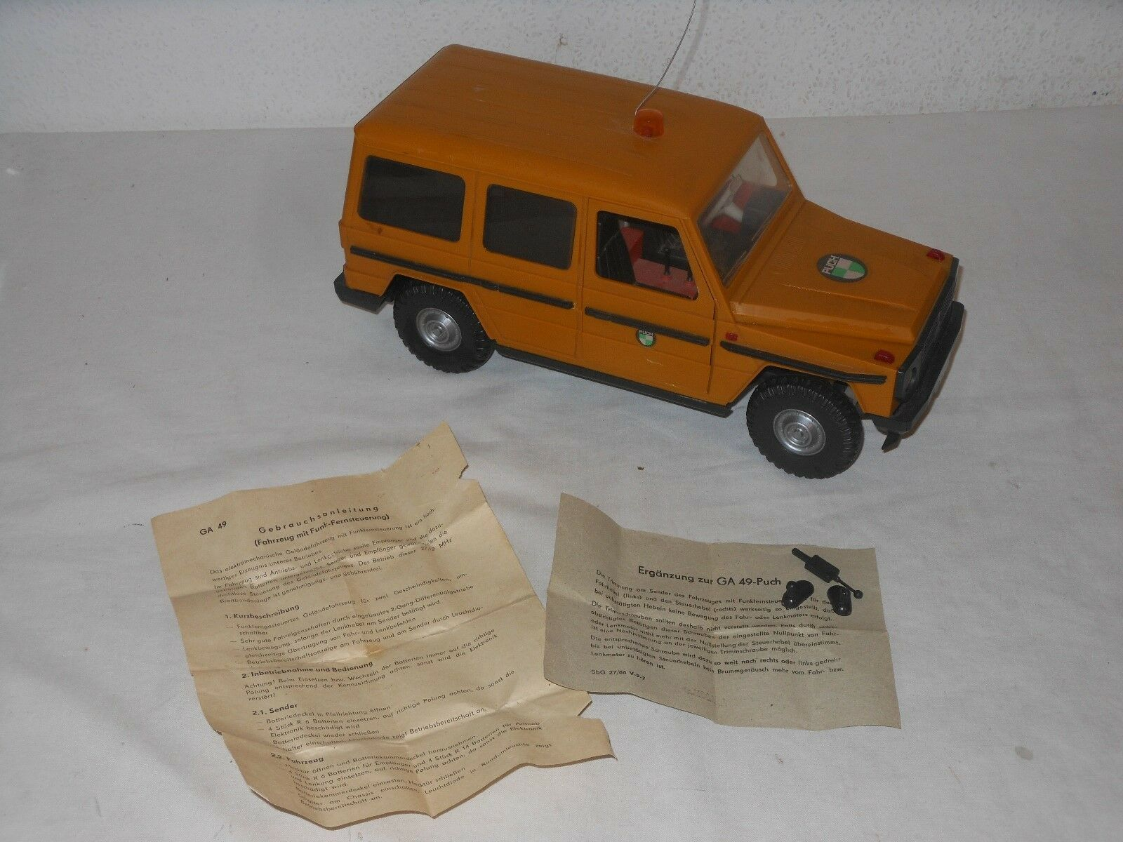 color Variant - PUCH Mercedes G Model - 70èr Years - RC Vintage Toy - ANCHOR
