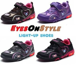 Boys-Girls-Lighted-Tennis-Shoes-Sneakers-Toddler-Youth-Kids-Casual-Running-Shoes
