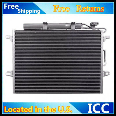 A//C Condenser For 2003-2011 Mercedes-Benz E320 E350 E550 E63 V6 V8 Free Shipping
