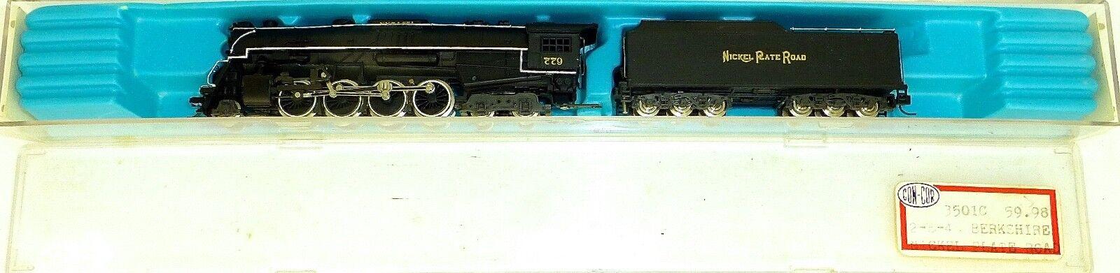 Rivarossi 9293 2-8-4 Berkshire 779 níquel plate Road máquina de vapor OVP n 1 160 Å