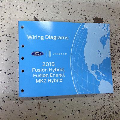 2018 Ford Fusion Hybrid Energi & Lincoln MKZ Electrical Wiring Diagram  Manual | eBay | Hybrid Wiring Diagrams |  | eBay