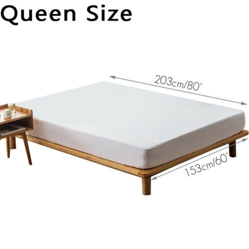 Hypoallergenic Mattress Cover Protector Waterproof Queen King Beds Pillow Covers