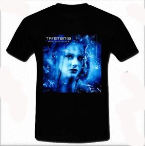 Tristania-World-of-Glass-Gothic-metal-Death-doom-T-shirt-Tee-Size-S-M-L-XL-2XL