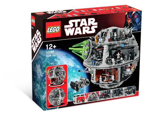 Tout Nouveau Lego Star Wars Étoile de la Mort 2008 10188