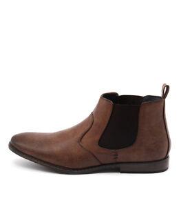 New-Uncut-Cobden-Tan-Mens-Shoes-Casual-Boots-Ankle