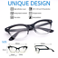 CAT-EYE-Eyeglasses-BAMBI-034-Ombre-034-Women-Tortoise-BLACK-Gradient-Shadz-GAFAS thumbnail 2