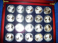 ***35-pc. 1986 - 2016, American Silver Eagle Proof Date Set, incl 1995-W.***