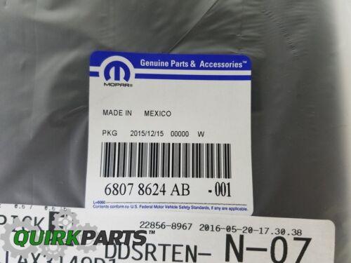 2013-2018 FIAT 500 FRONT BUMPER LICENSE PLATE BRACKET HOLDER OEM MOPAR GENUINE