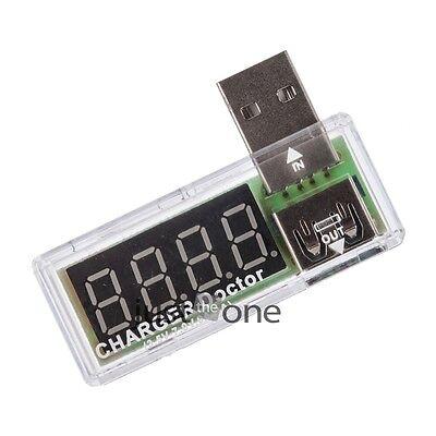 NEU USB Multimeter Strommessgerät Voltmeter Spannungsmesser Tester Detektor Weiß