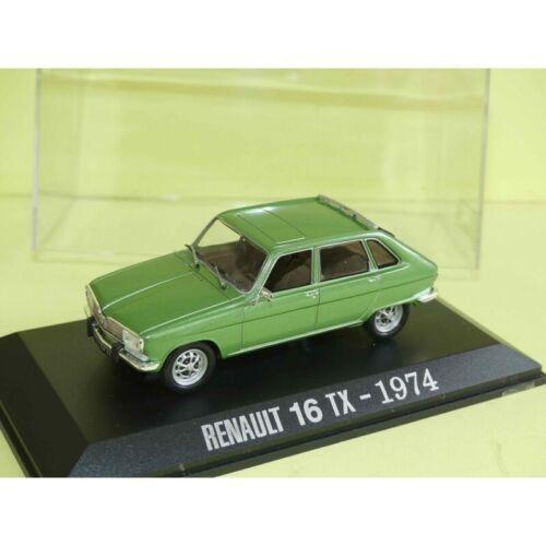RENAULT 16 TX 1974 Vert UNIVERSAL HOBBIES Collection M6 1:43