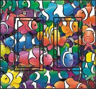 Ideastix//SwitchStix Switchplate cover DR Clown Fish