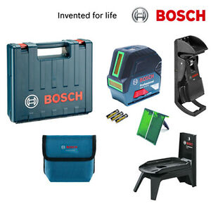 bosch gcl2 15 g professional gr n cross line level laser gcl2 15g rm1 mount ebay. Black Bedroom Furniture Sets. Home Design Ideas