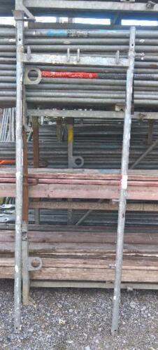 Gerüst Plettac Vertikalrahmen  SL70  200x74cm  Rahmen Gerüst Baugerüst  #1