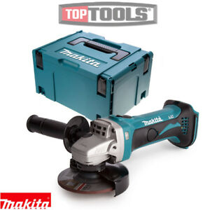 makita dga452z 18v 115mm lxt cordless angle grinder with. Black Bedroom Furniture Sets. Home Design Ideas