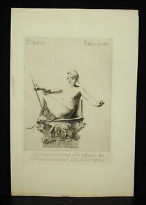 Atzradierung-Forte-Ap-einer-Skulptur-die-Saga-von-J-D-Ringel-D-039-Illzach-Salon