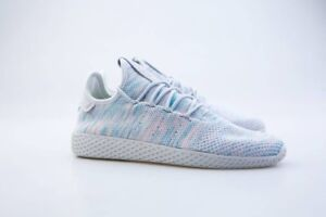 e1f7f3493 BY2671 Adidas x Pharrell Williams PW Men Tennis HU Blue Nobel Ink ...