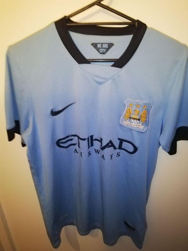 Fodboldtrøje, Manchester city trøje, Nike