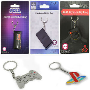 New-Retro-Console-Keyring-Key-Chain-Playstation-Sega-Official-Numbskull-Gamer-UK