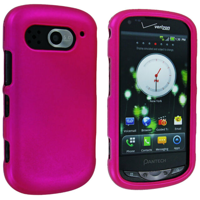 Hot Pink Snap-On Hard Case Cover for Pantech Breakout 8995