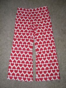 Girls-Gymboree-Valentine-039-s-Day-Heart-Yoga-Pants-Size-4