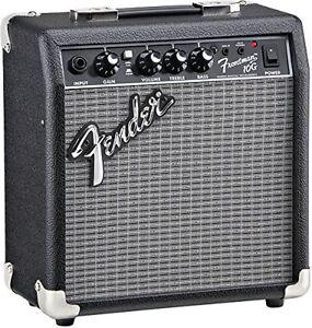electric guitar amplifier 6in speaker 10w headphone jack practice portable amp ebay. Black Bedroom Furniture Sets. Home Design Ideas