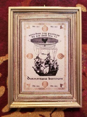Durmstrang Ship Travel Voucher Handmade Christmas Ornament For Harry Potter Fans