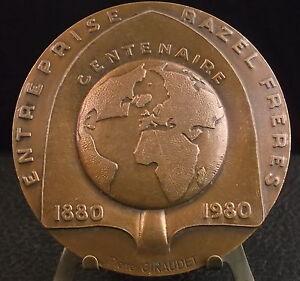 Medaille-Rene-Razel-Freres-Planete-terre-Earth-fc-Baron-Medal-Pierre-Giraudet