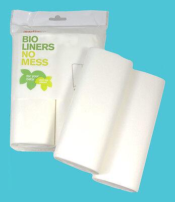 Imse Vimse Windelvlies Baby 200 Blatt Bio Liners Einweg Windeleinlage Hygiene