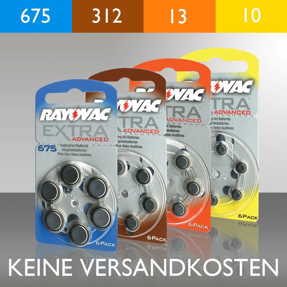 Batteries for hearing aid appliances zinc