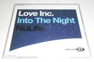 LOVE INC - INTO THE NIGHT - 2002 UK ENHANCED CD SINGLE