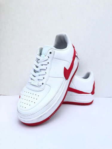 Nike Women Air Force 1 Jester XX White- Red AO1220