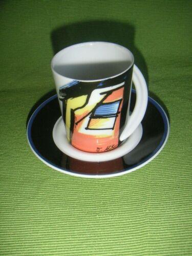 Cupola Espressotasse Sammeltasse Nr.7 neuwertig Otmar Alt TOP2x da 1 Rosenthal