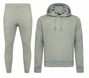 7f3fc822402e6 Nike Mens Foundation 2 Tracksuit Fleece Hooded Jogging Tapered ...