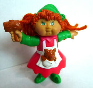 1994-McDonald-039-s-Cabbage-Patch-Kid-Christmas-Elf-Doll-CPK-Toy-Happy-Meal