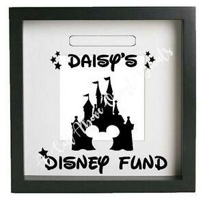 Personalised Disney Fund Vinyl Decal Sticker Only Money