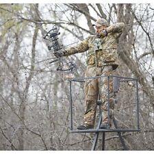 Tripod Deer Stands 13 Foot Hunting Big Game Hunter Ladder Shooting Tree Blind