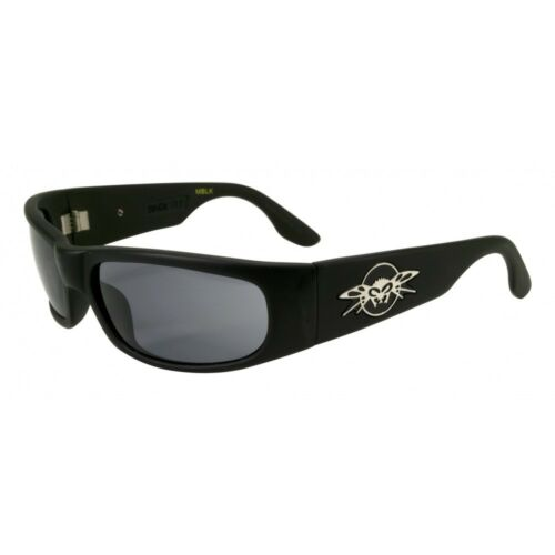 Smoke Lenses Black Flys Sonic Fly Sunglasses Matte Black