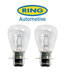 Ring - 12v 35/35w P15D-3 - Motorcycle Headlight Bulb - R7027 - PAIR