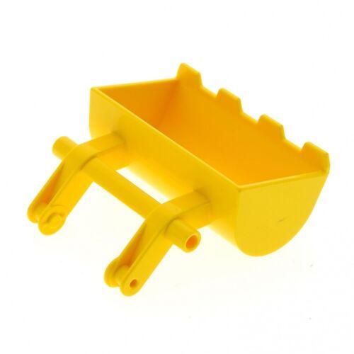 1x Lego Duplo Primo Bagger Schaufel gelb Laster Bau Fahrzeug Set 3699 3700 45216