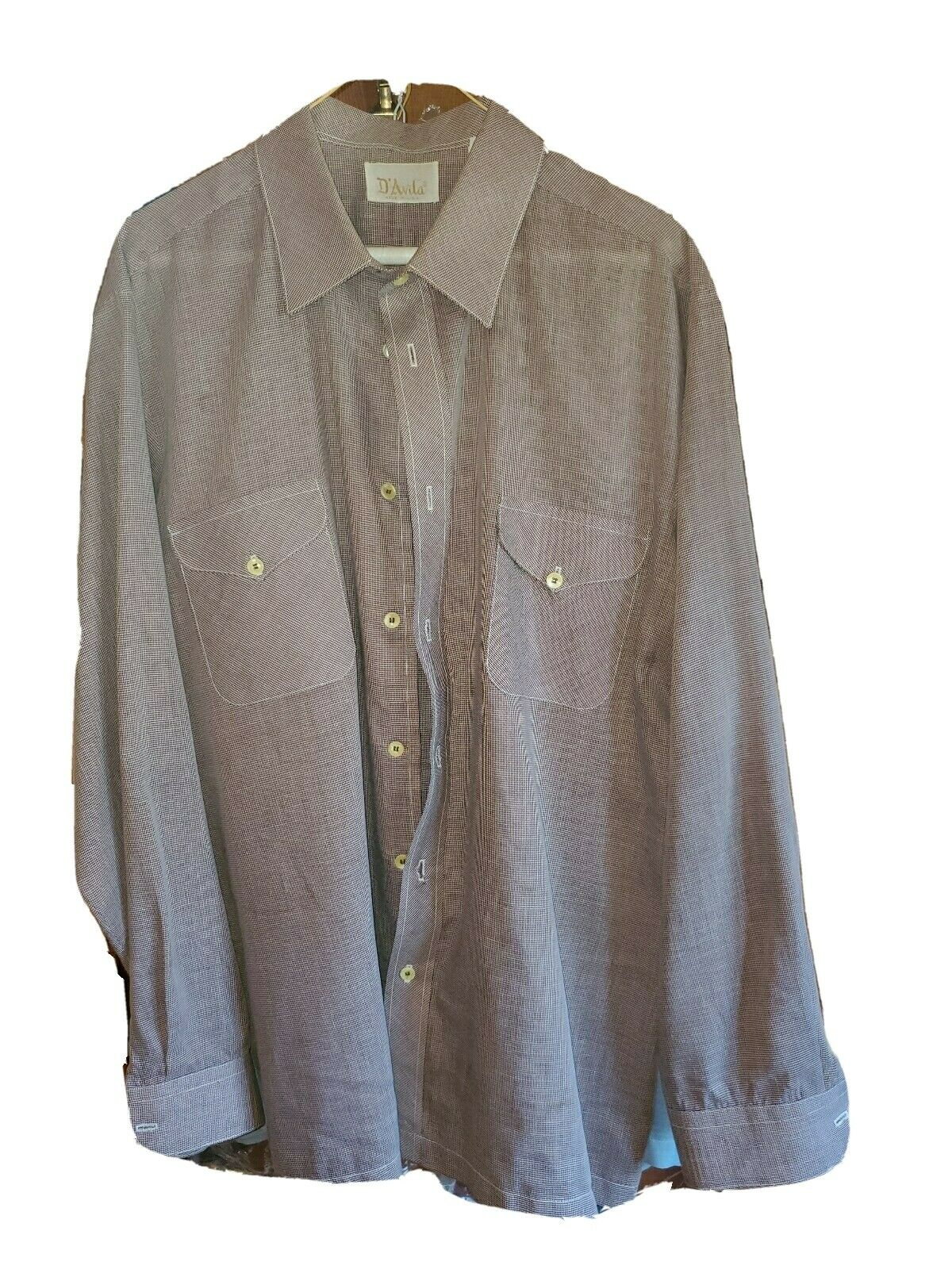 Vintage men's shirt XL 60's/ 70's - image 1