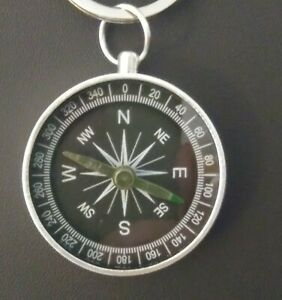 Aluminum-Compass-Key-Chain