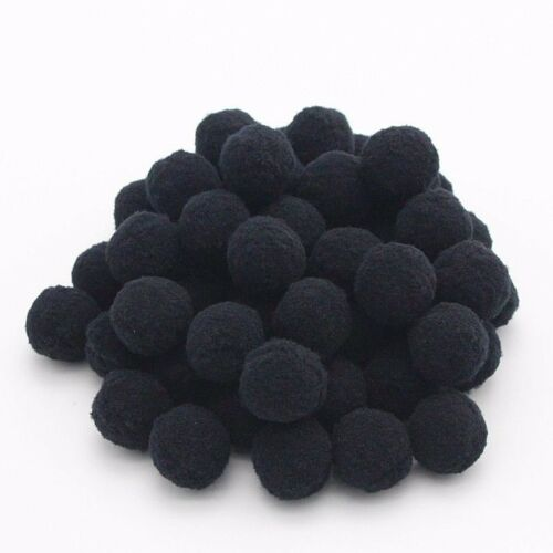 """Round Choice of Color Pack of 2000 Fuzzy Plush POM POMS 6mm about 1//4/"""""""