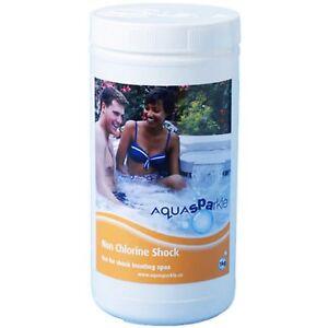 1kg-Non-Chlorine-Shock-Granules-Hot-Tub-Spa-Pool-Chemicals-Aquasparkle