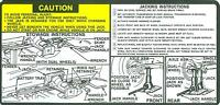 1978-79 Chevy Truck /gmc Jack Instructions