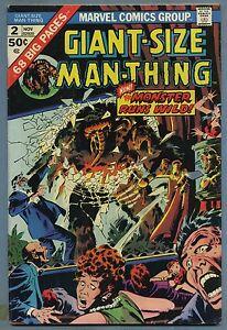 Giant-Size-Man-Thing-2-1974-Steve-Gerber-John-Buscema-Klaus-Janson-Marvel-B