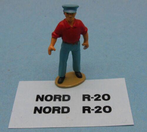 """Décalcomanie /""""NORD R-20/"""" pour missile Berliet Dinky Toys 816 DEC816"""