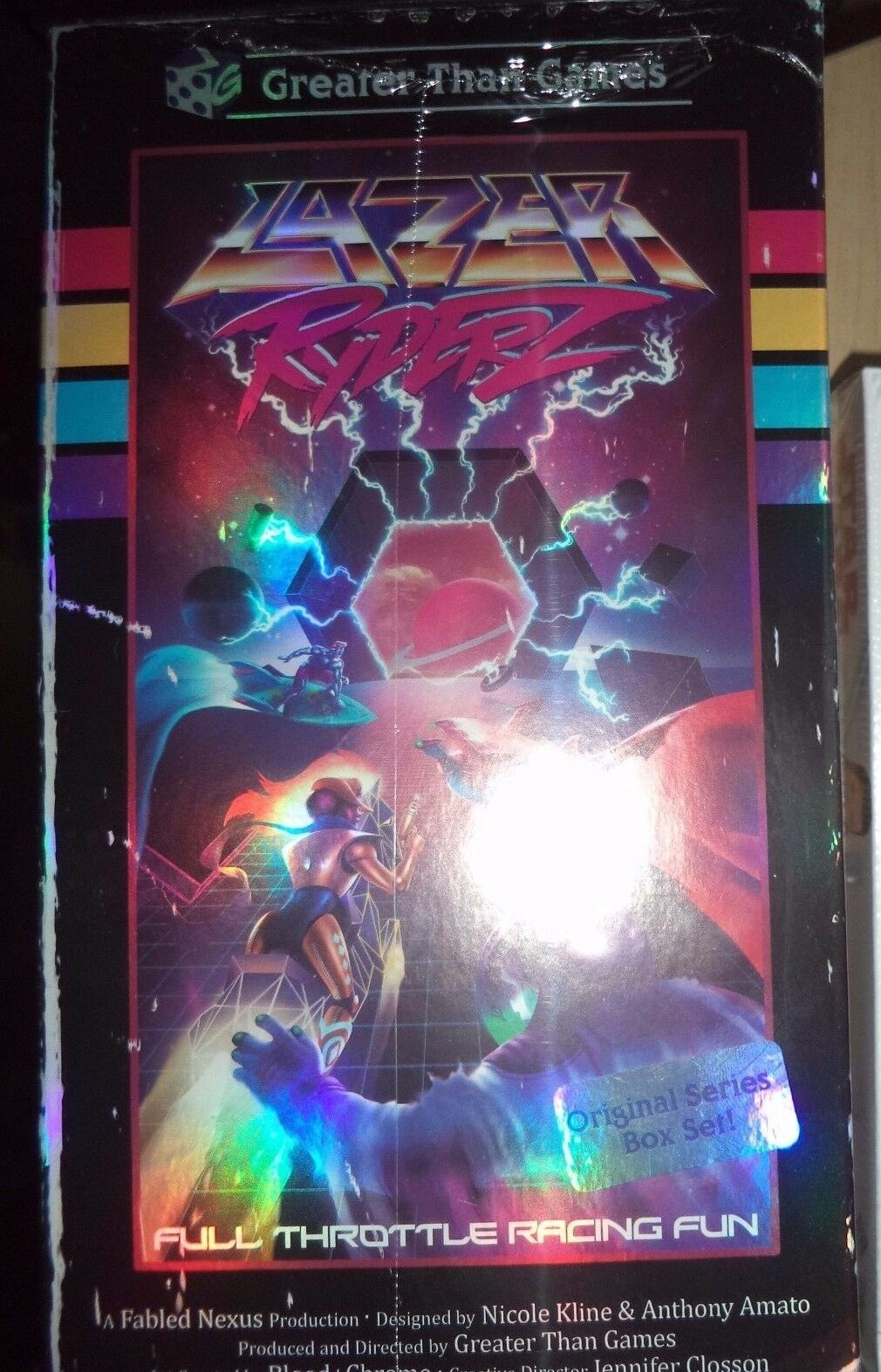 Lazer Ryderz - Greater Than Games Sci Fi Board Game New
