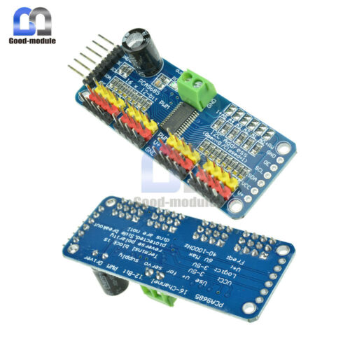 PCA9685 16 Channel 12bit PWM Servo motor Driver I2C Module For Arduino Raspberry