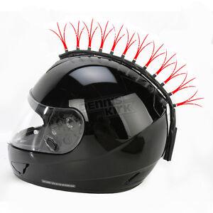 Helmets-Inc-Red-Fiber-Optic-Motorcycle-Helmet-Mohawk-FOR